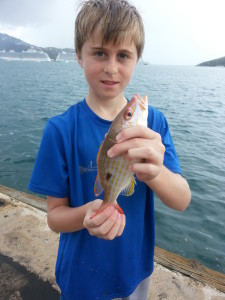 Things for Kids to Do in St. Thomas includes a Cruise Ship Shore Fishing Excursion