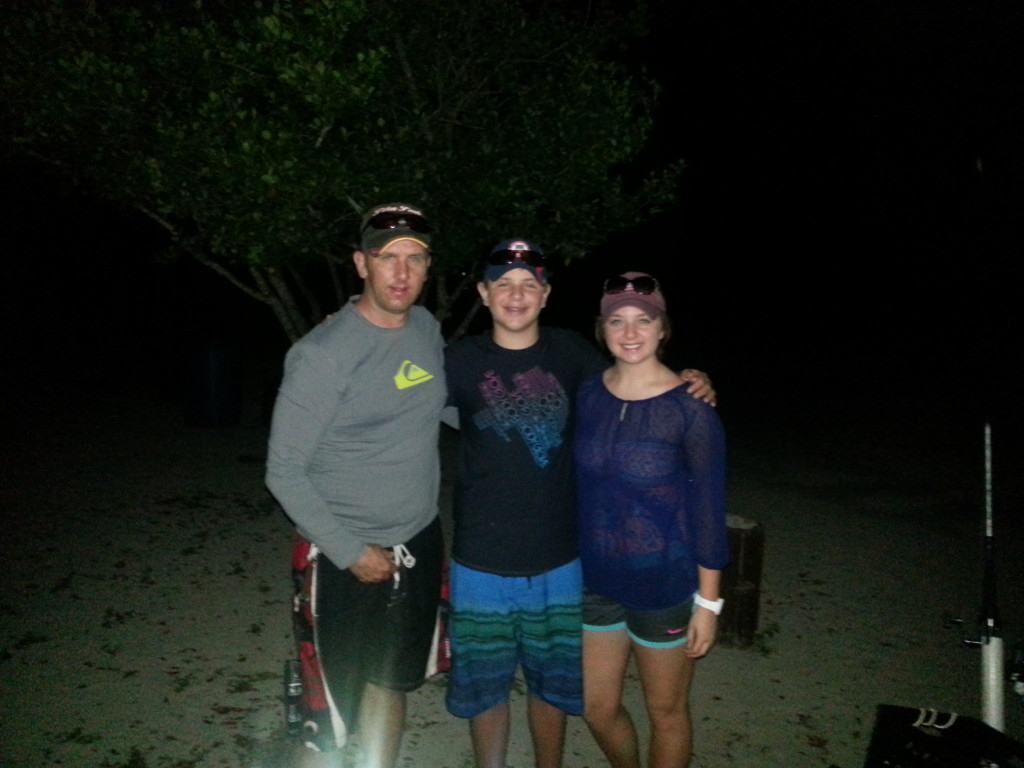 Night Fishing is a Great Family Activity for Families Looking for Exciting Things to Do in St. Thomas