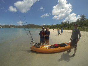 A St. Thomas Kayak Fishing Tour is a Great Thing to do on St. Thomas
