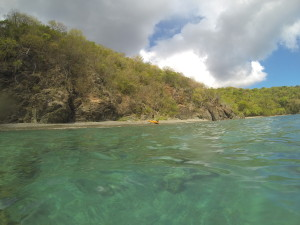 st. thomas kayak and snorkel adventure excursion
